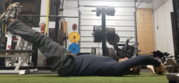 Technique of the Week: Dumbbell Assisted Leg Lifts